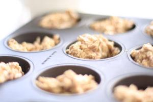 Pieczenie babeczek z siemieniem lnianym