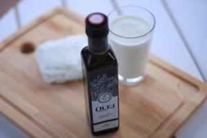 Olej lniany bogaty w kwasy omega 3