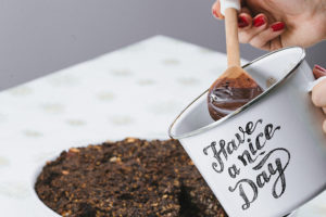 Polewa czekoladowa do makowca